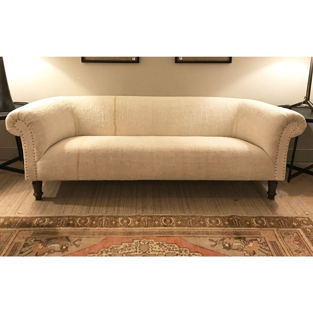 "One of a Kind Springfield 84"" Sofa in Vintage Hemp by Cisco Home"