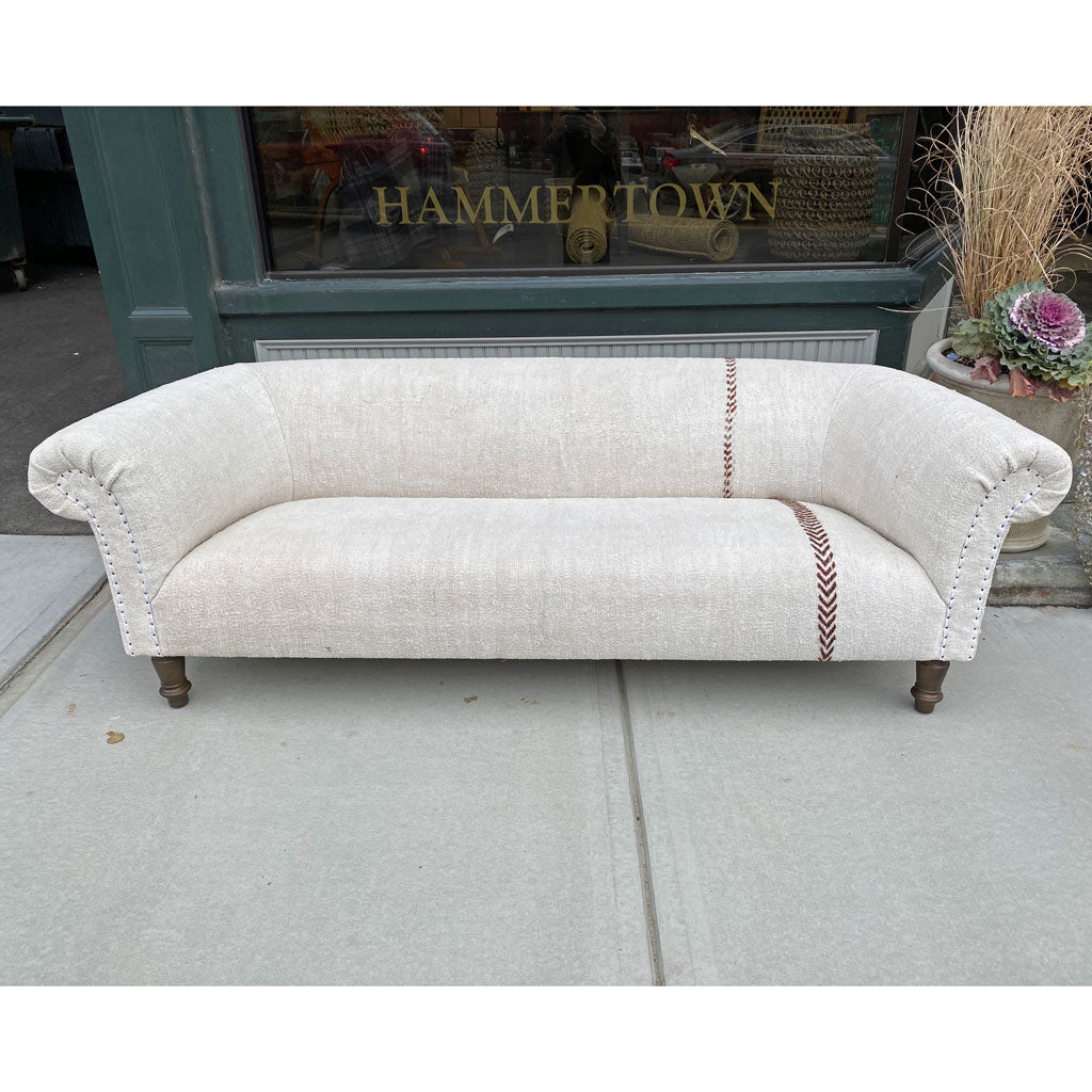 "One of a Kind Springfield 84"" Sofa in Vintage Hemp by Cisco Home *Floor Model*"