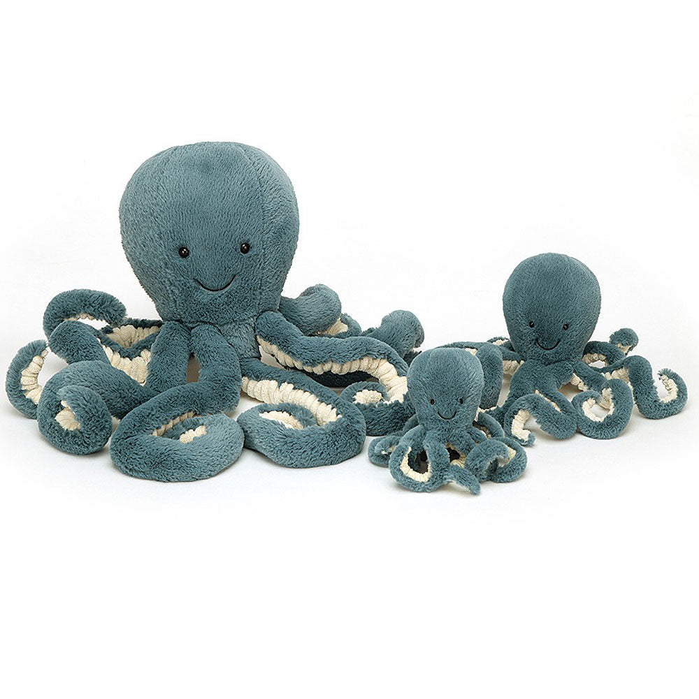 Storm Octopus- Medium, Little, or Tiny