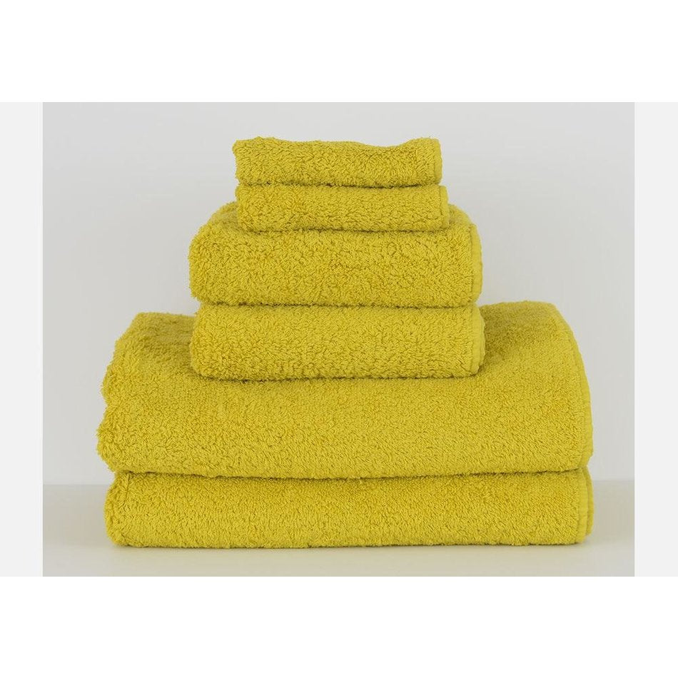 Super Pile Egyptian Cotton Bath Towel Color in Lemon Curry