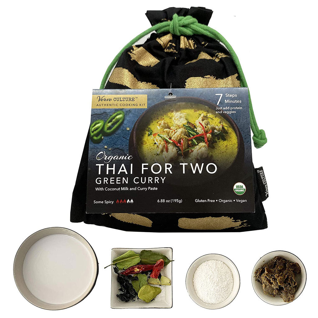 Thai for Two Cooking Kit - Organic Green Curry