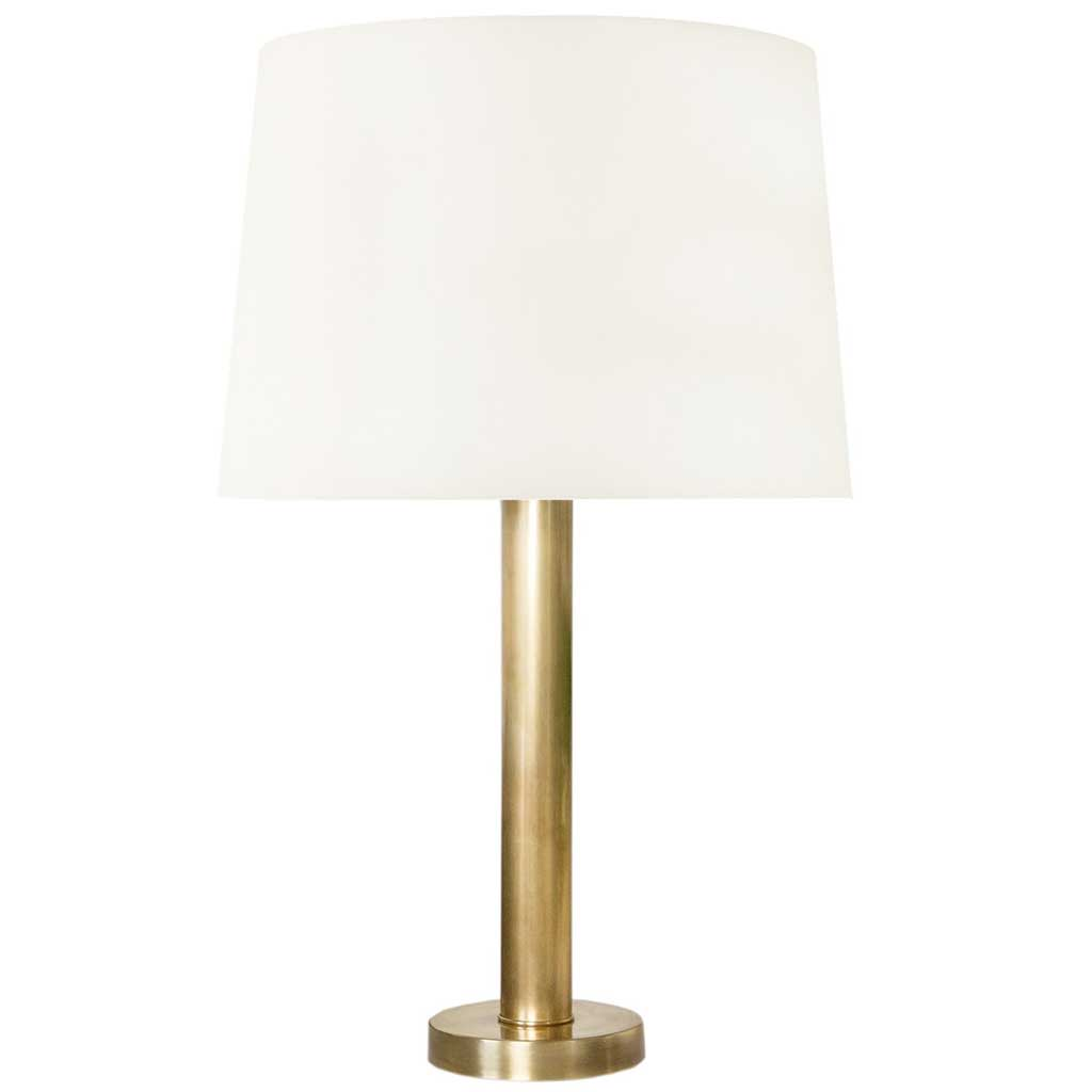 Theodore Table Lamp in Brass