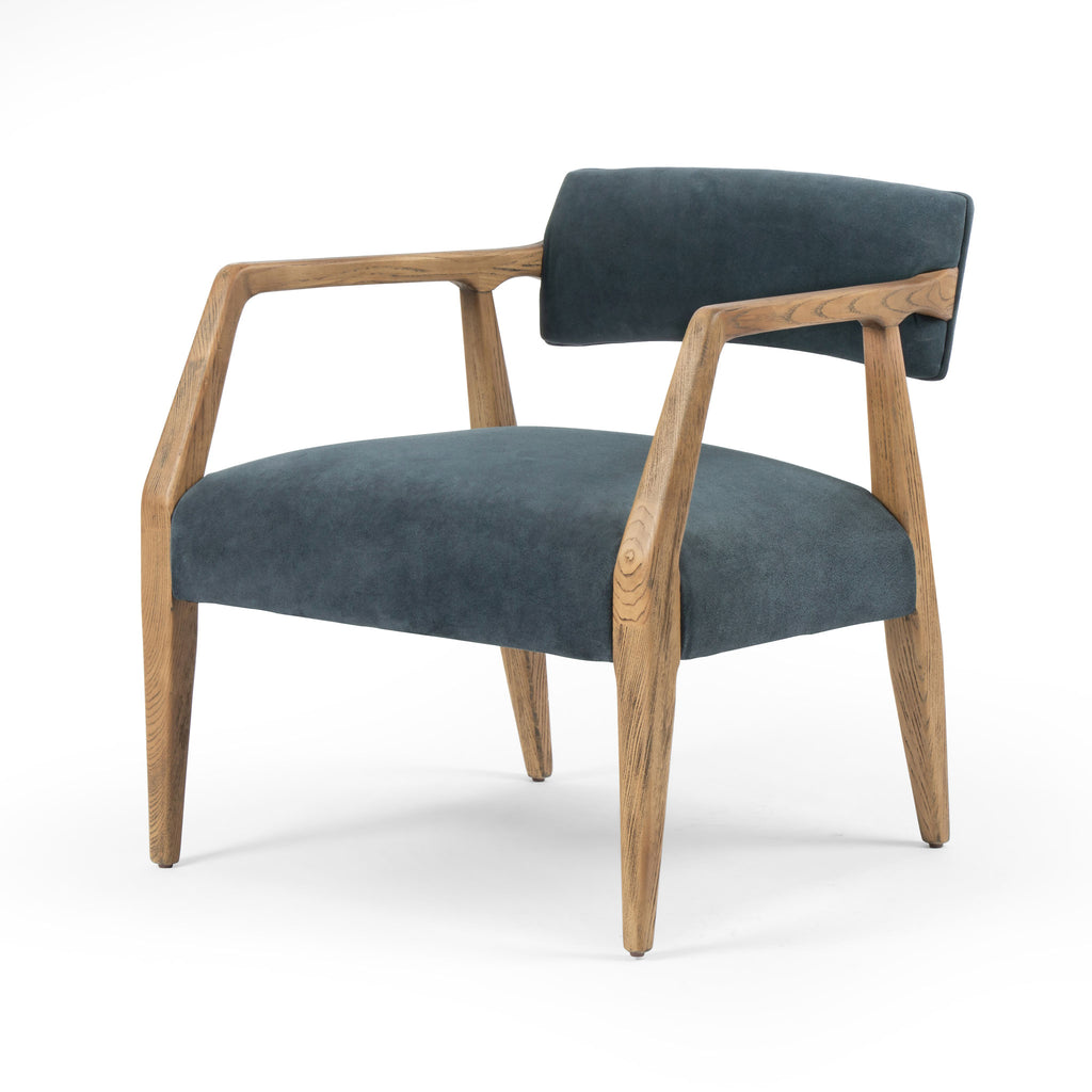 Trent Armchair in Montana Blue