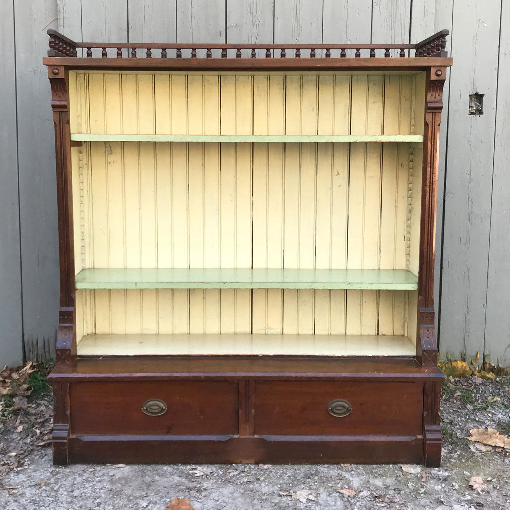 Circa 1890 Adjustable Bookshelves