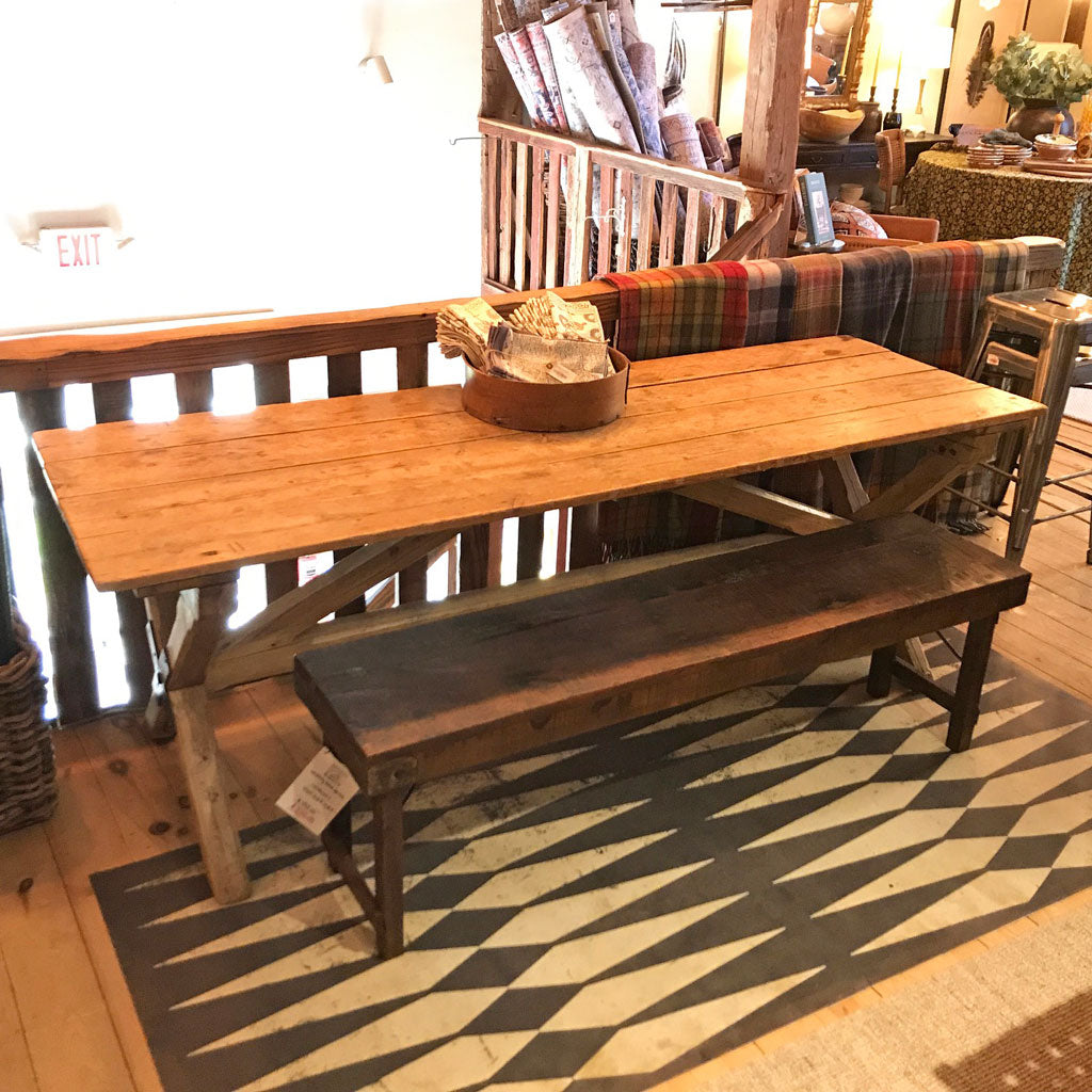 Antique European Harvest Table