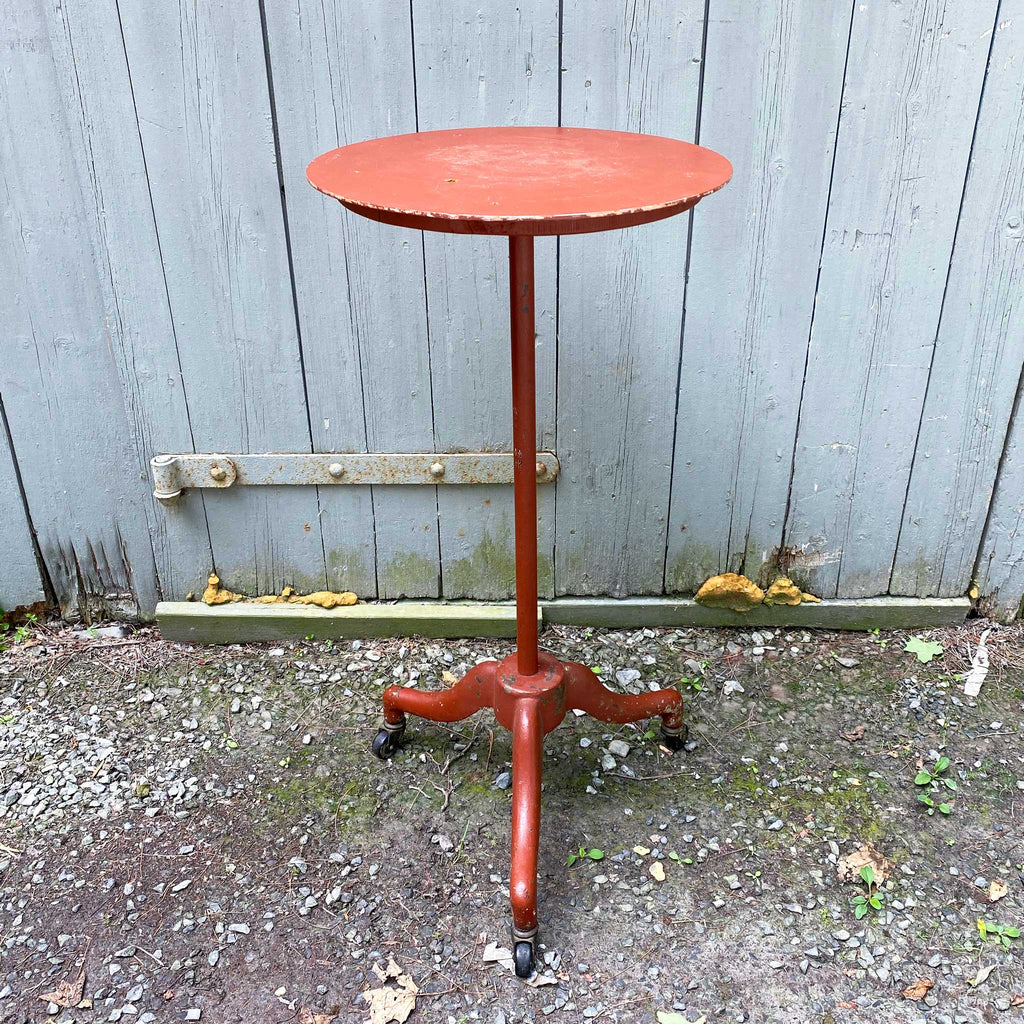 Vintage Mid Century Rolling Tripod Stand