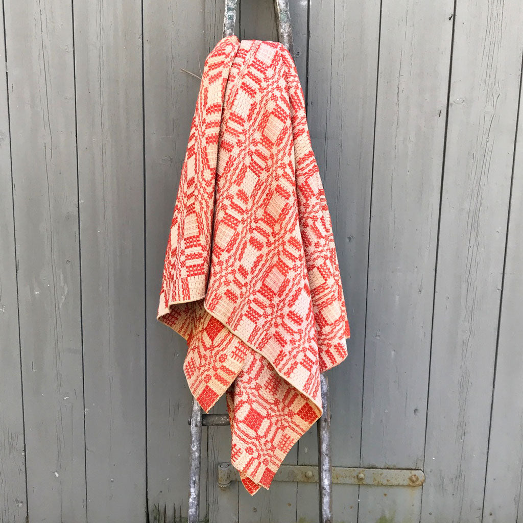 Vintage New England Coverlet