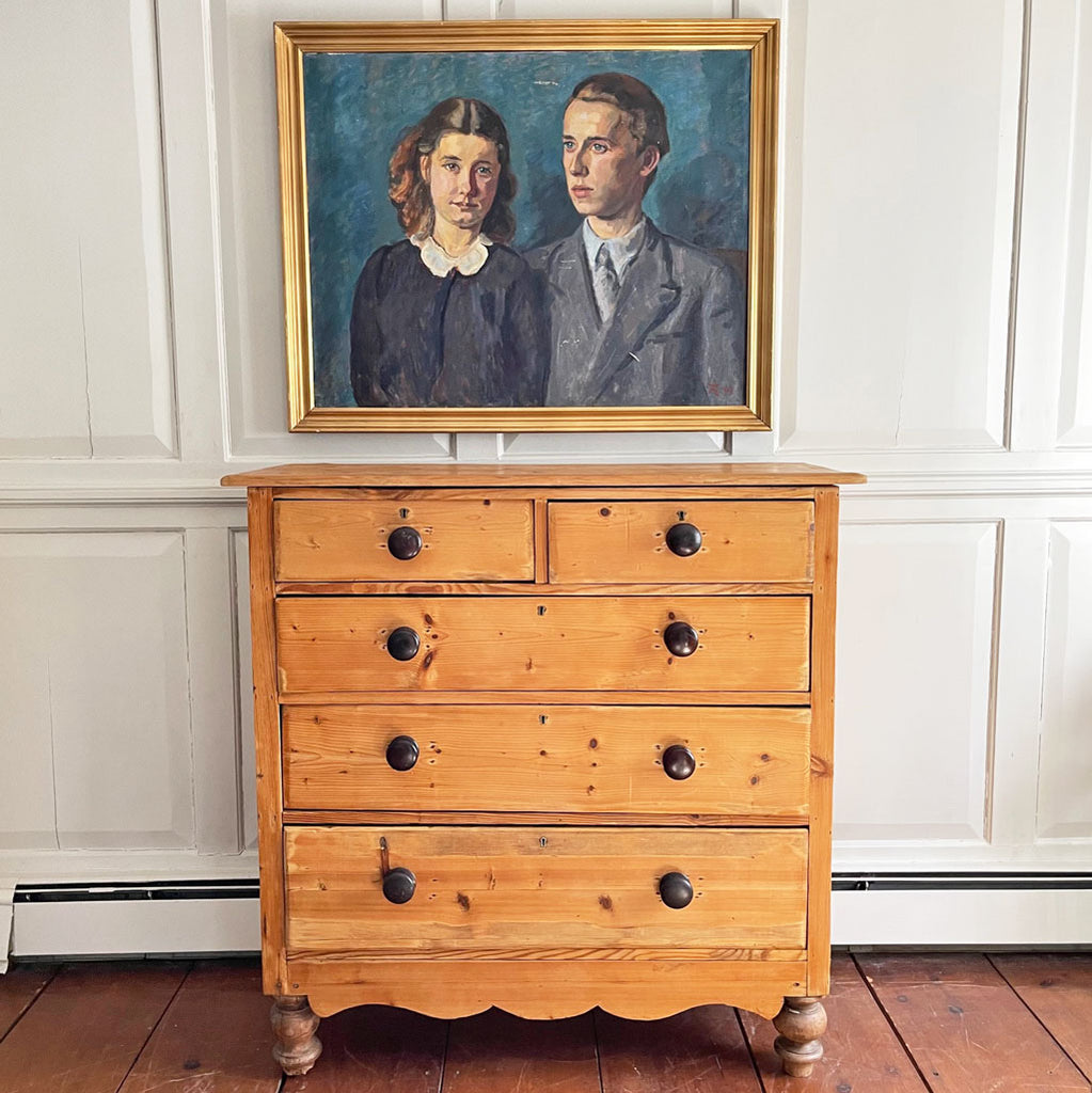 19th Century English Pine Chest