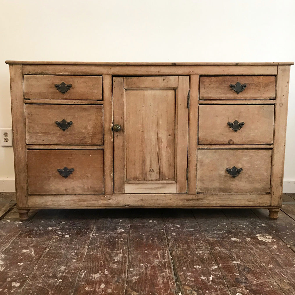 Antique Pine Server