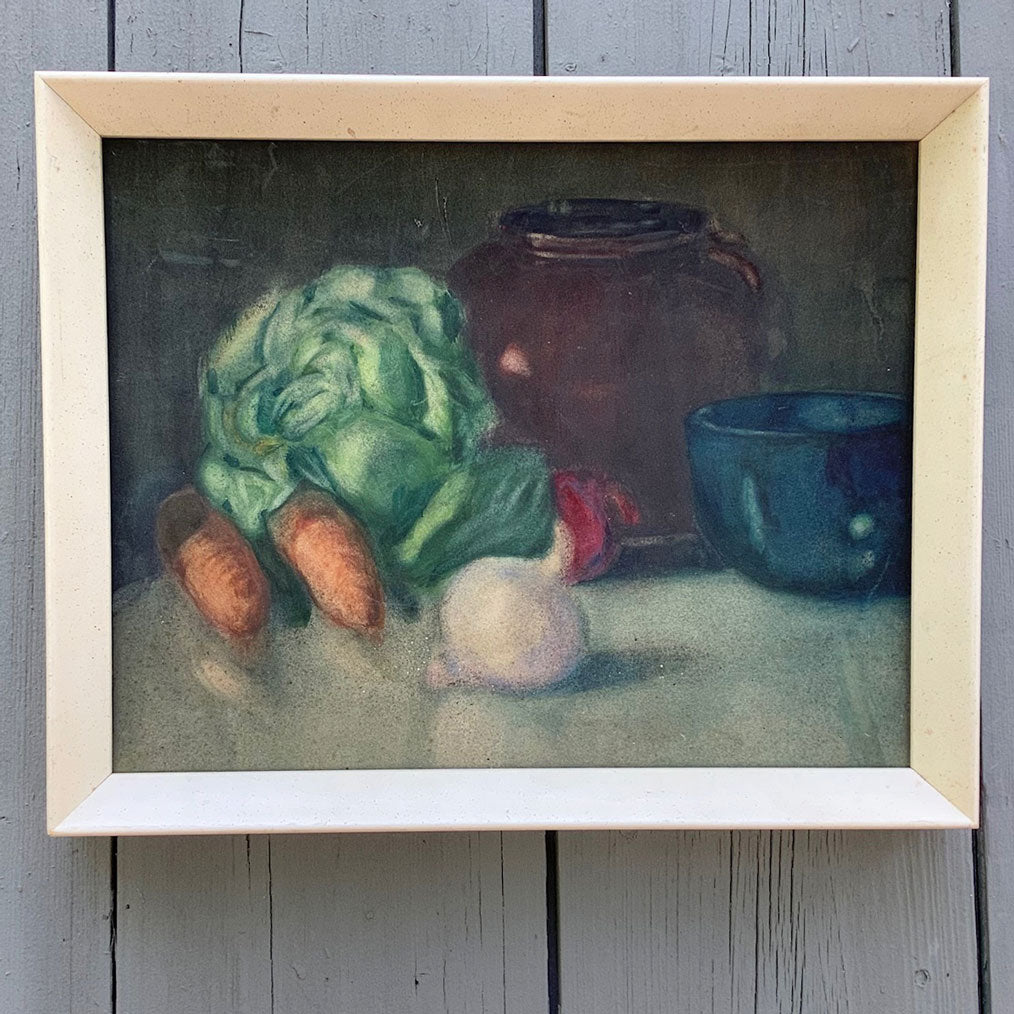Vintage Vermont Still Life Painting