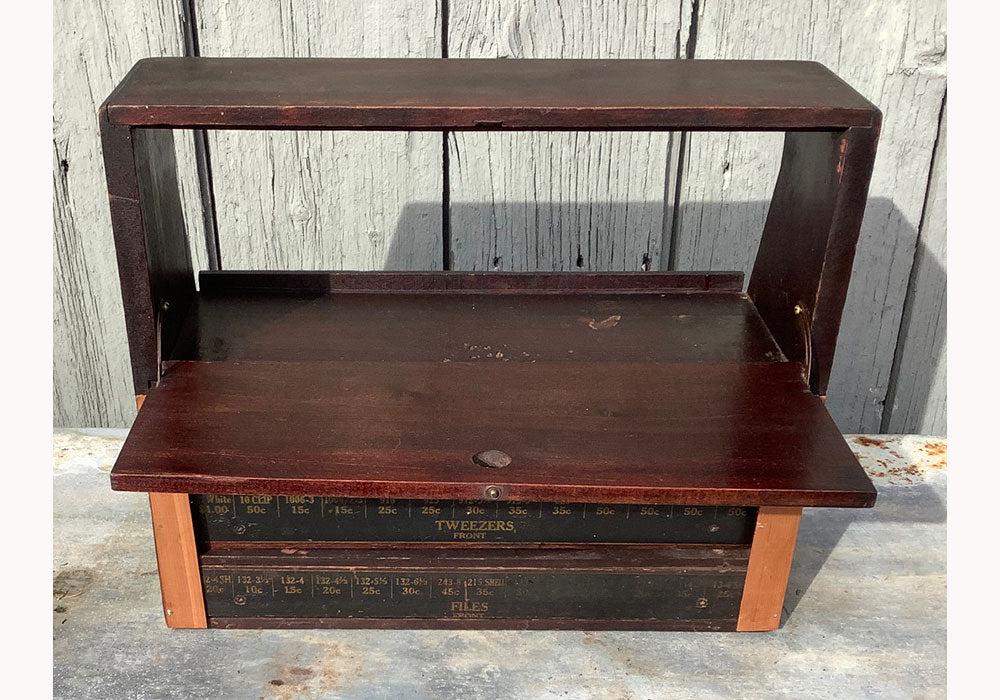 Vintage Country Store Parts Cabinet
