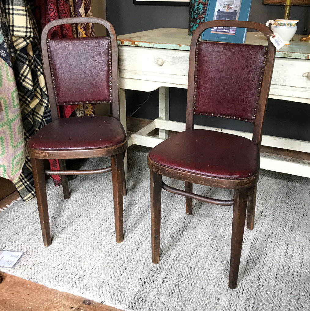 Set of Six Vintage Thonet Chairs