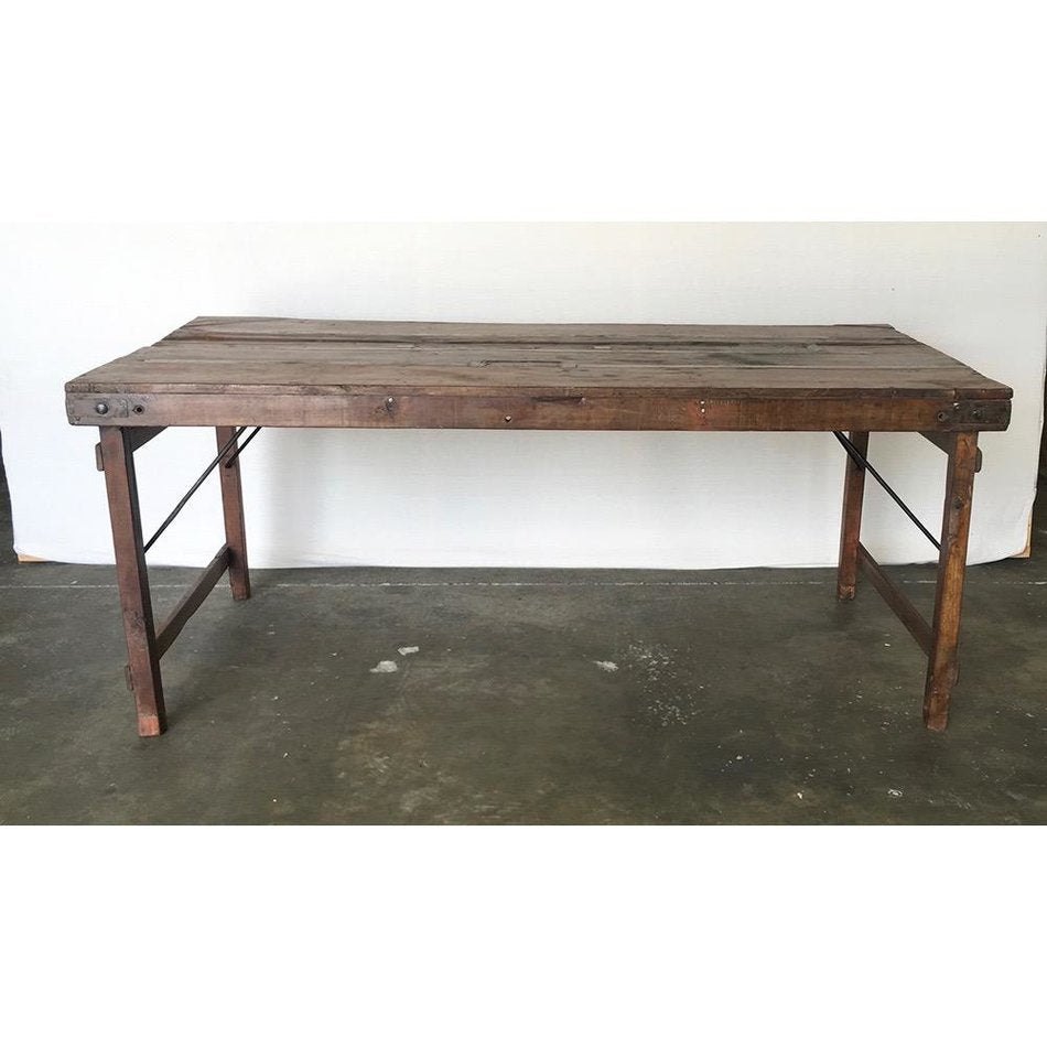 Vintage Wood Wedding Table, XL