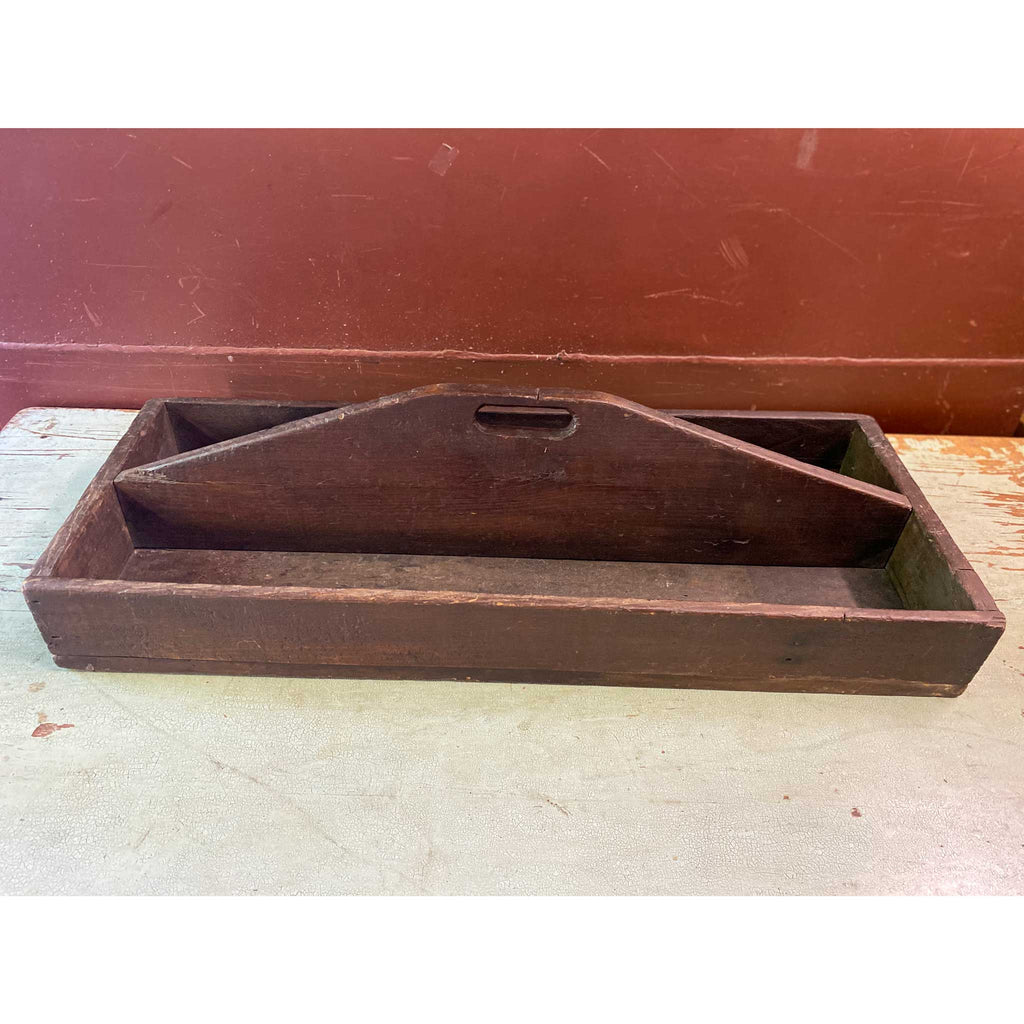 Vintage New England Wood Carrier
