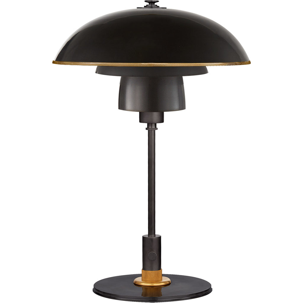 Whitman Desk Lamp in Bronze
