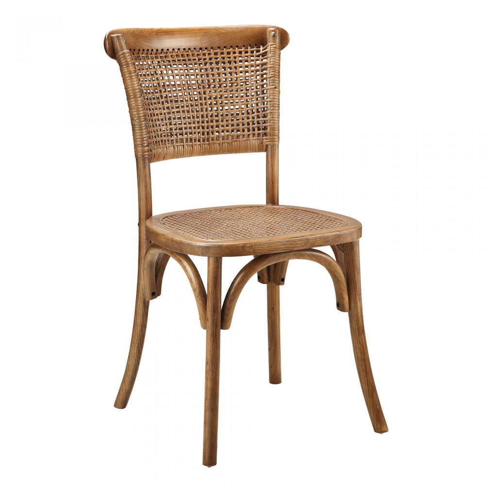Winston Natural and Rattan Dining Chair