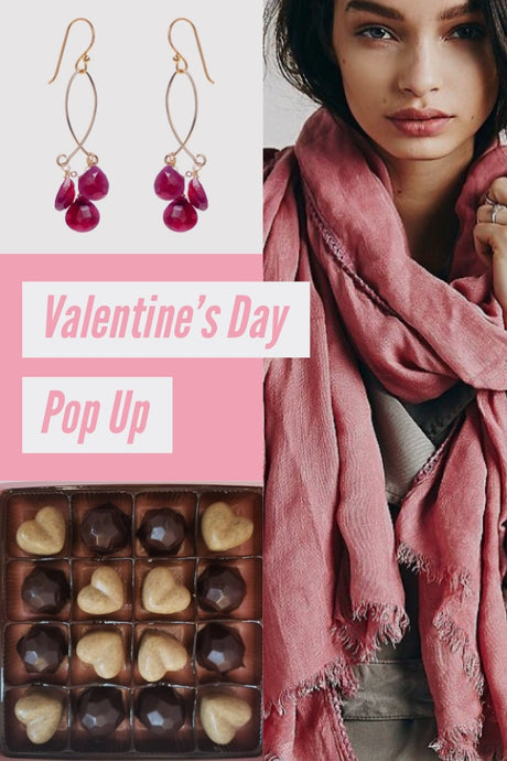 VALENTINE'S DAY POP UP & SAMPLE SALE EVENT