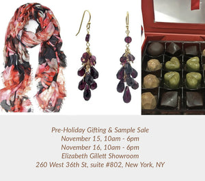 Pre-Holiday Gifting Pop Up Event & Sample Sale