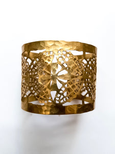 Cut-Out Cuff Bracelet, Medium