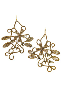 Peruvian Floral Earring