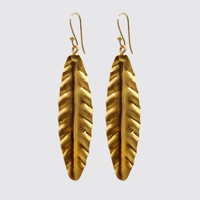 Gold Vermeil Leaf