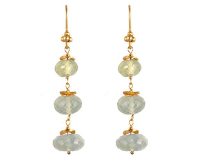 Prenite Triple Drop Earrings