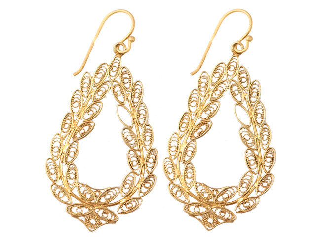 Peruvian Filigree Earrings