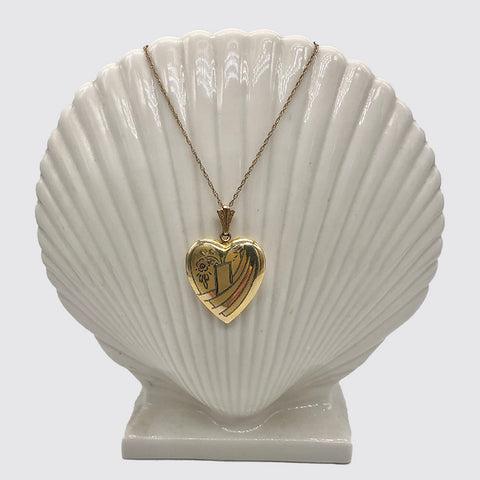 Heart Locket on Chain