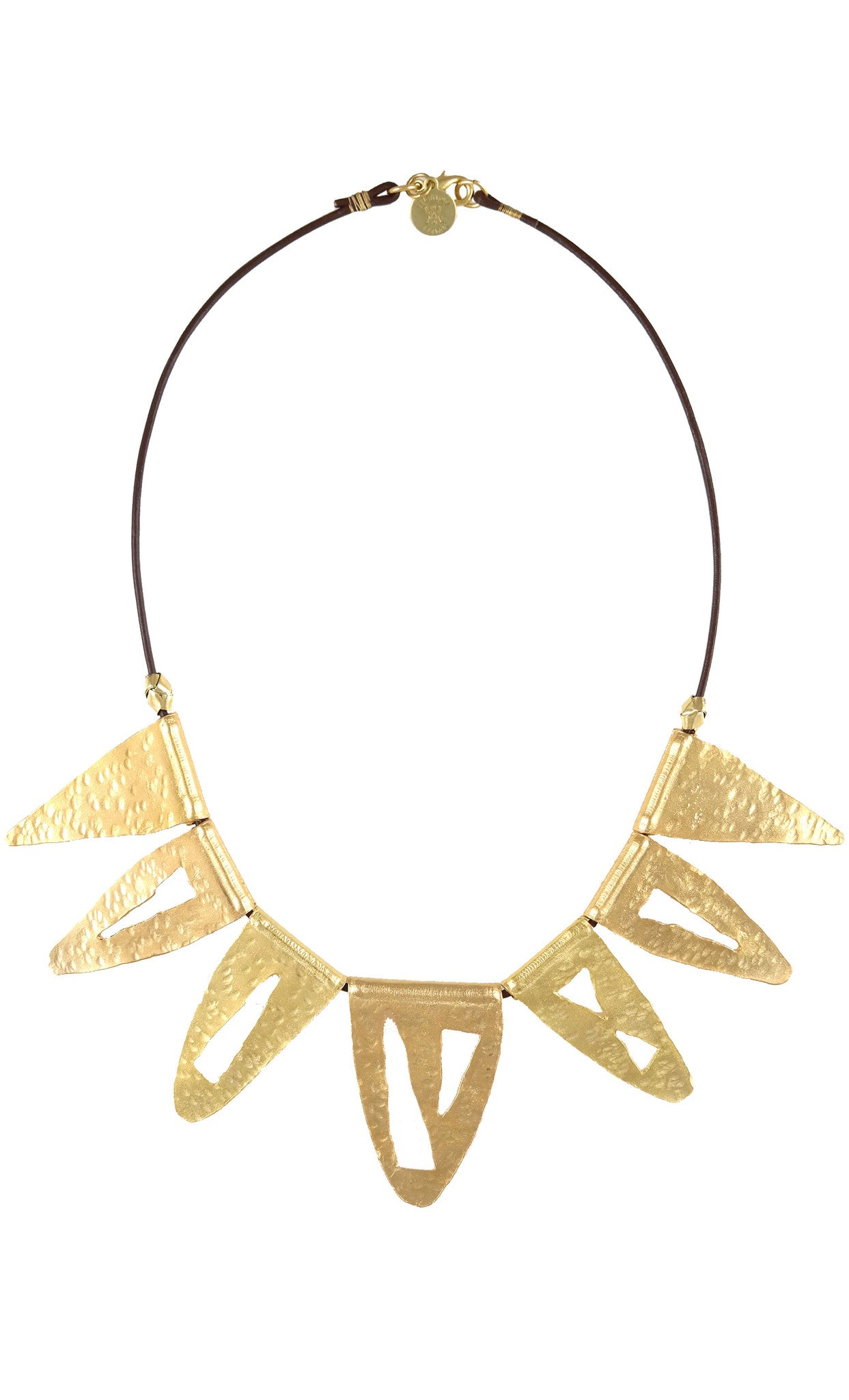 Statement Gold Bib Necklace