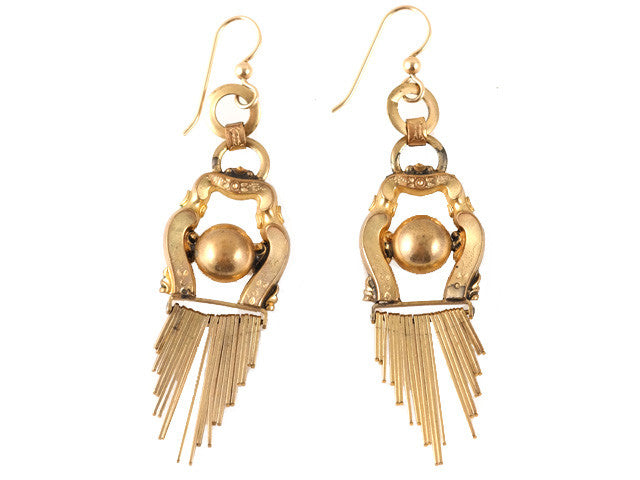 Victorian Gold Filled Earring