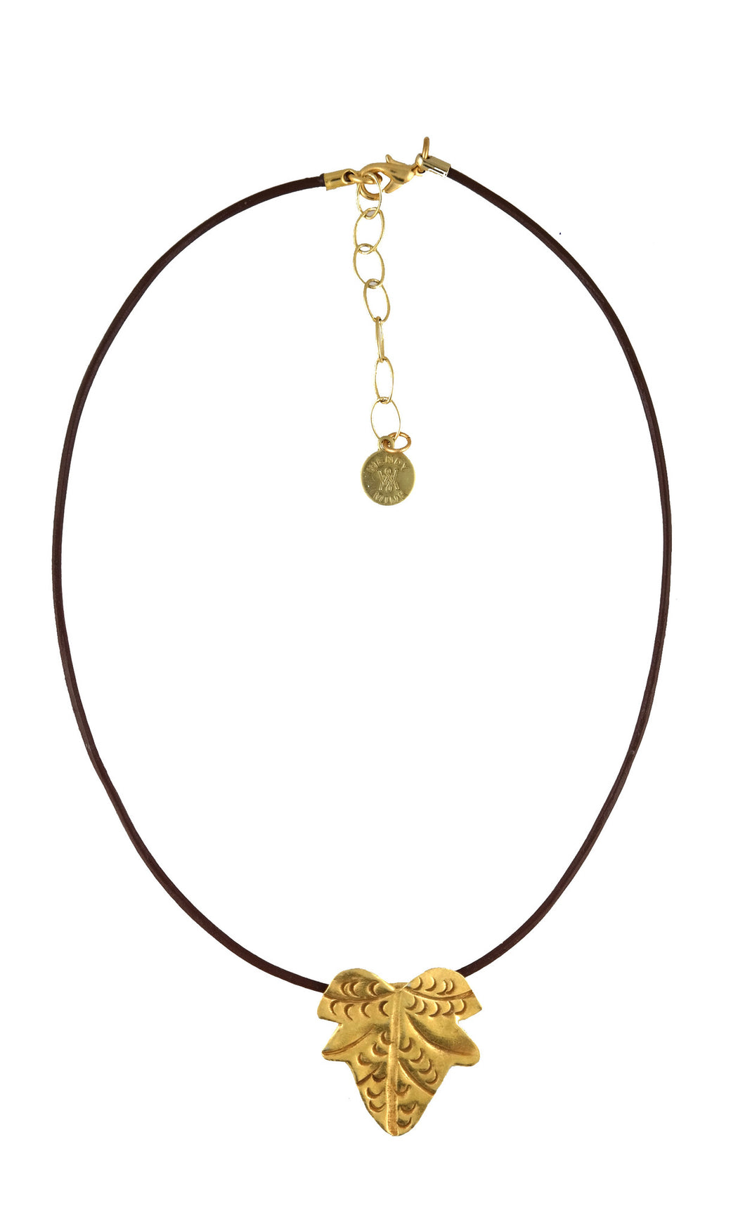 Gold Leaf Choker Necklace