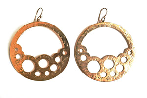 Statement Round Earrings