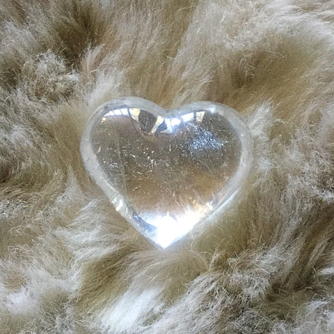 Quartz Crystal Heart