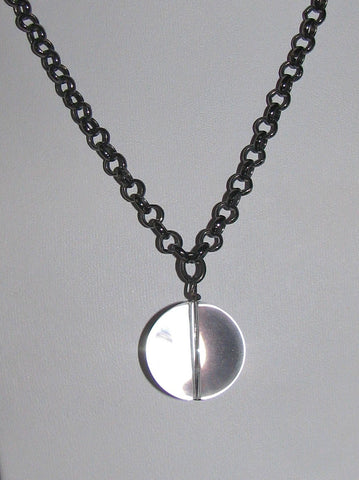 Atantean Orb Drop Necklace