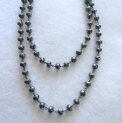 Pyrite beaded chain