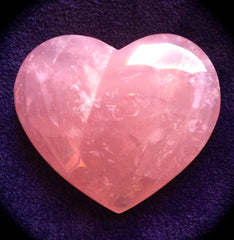 Madagascar Rose Quartz Heart