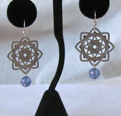 Atlantean Orb Star Earrings