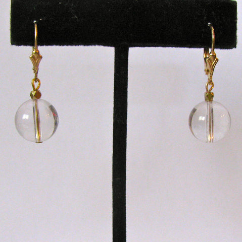 Atlantean Orb Pearl Drop Earrings