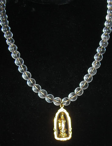 Quan Yin Atlantean Orb Necklace