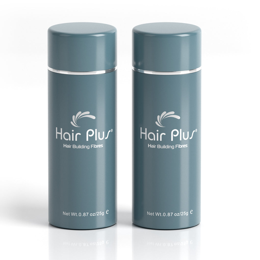Hair Plus Hair Building Fibres 2×25g /2×0.87 oz