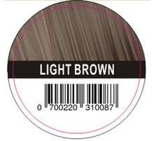 Load image into Gallery viewer, Hair Plus LIght Brown Hair Fibre Refill Bag 25g, 50g,100g,150g,300g,600g