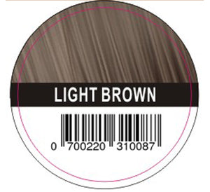 Hair Plus LIght Brown Hair Fibre Refill Bag 25g, 50g,100g,150g,300g,600g