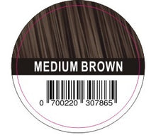 Load image into Gallery viewer, Hair Plus Medium Brown Hair Fibre Refill Bag 25g, 50g,100g, 150g,300g,600g