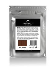 Load image into Gallery viewer, Red Brown Hair Fibre Refill Bag