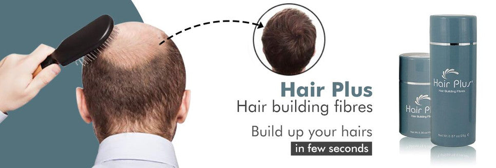hair plus hair building fiber
