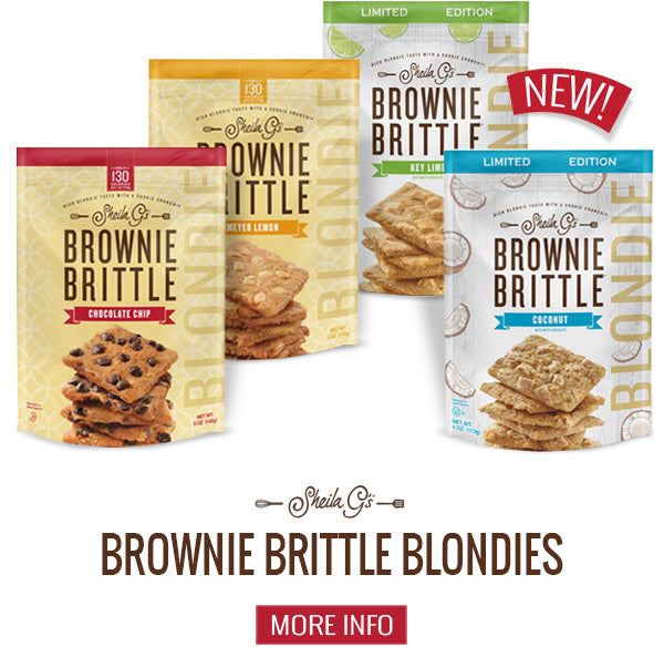 About Brownie Brittle Blondies