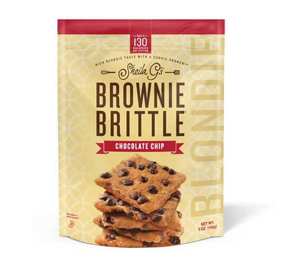 Brownie Brittle Chocolate Chip Blondies