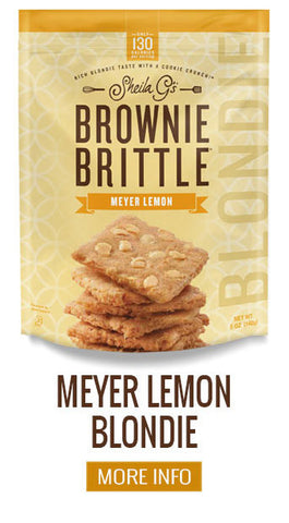 Brownie Brittle Blondies Meyer Lemon