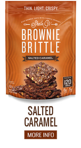 Brownie Brittle Salted Caramel - More Info