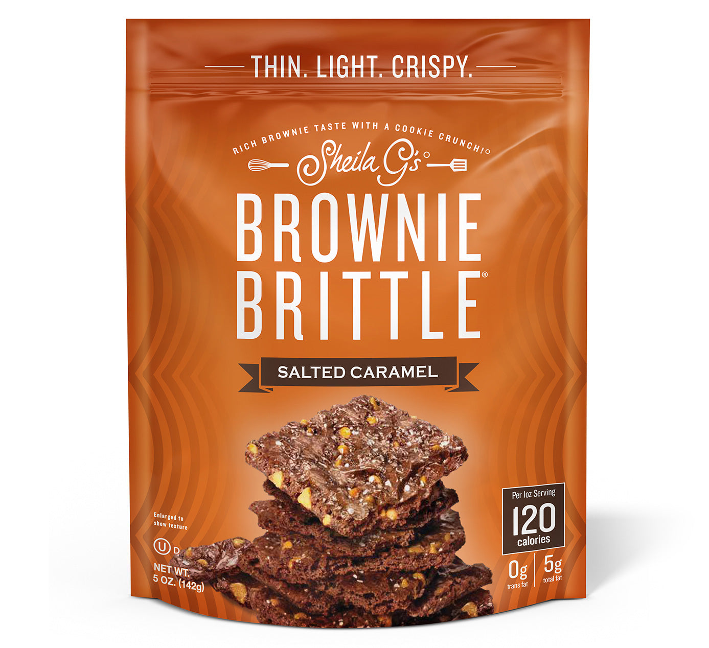Brownie Brittle Salted Caramel
